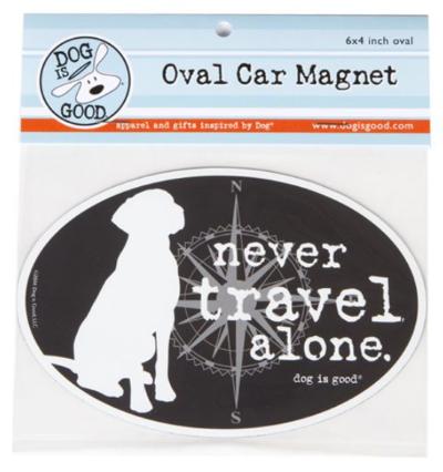Car Magnet_Never travel alone