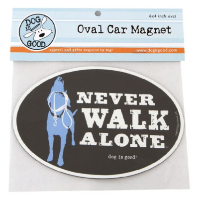 Car Magnet_Never walk alone