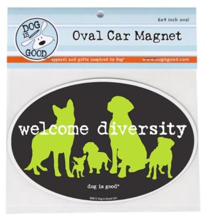 Car Magnet_Welkcome diversity