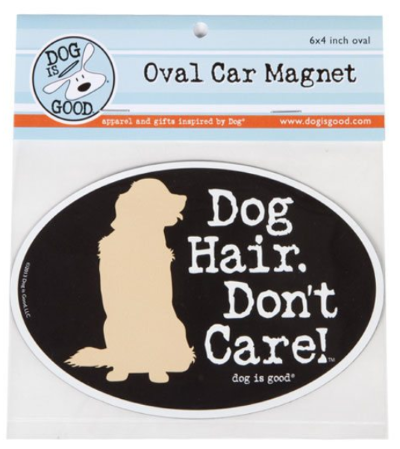 Car Magnet_dog hair dont care