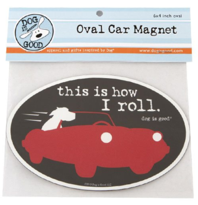 Car Magnet_how I roll