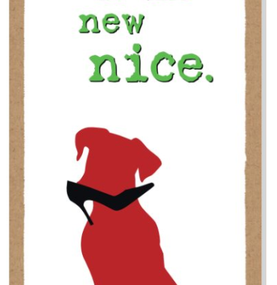 Wooden plaque_Naughty is the new nice